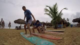 Первый урок серфинга или 1 млрд. падений