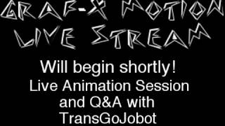 Graf-X Motion Live Animation Session and Q&A!