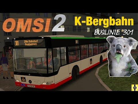 OMSI 2 [60 FPS] - Bus 301 der K-BERGBAHN im Facelift - Let's Play Omsi 2 [#393]: