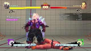 Super Street Fighter 4 AE v.2012 Oni Demon Setups 天
