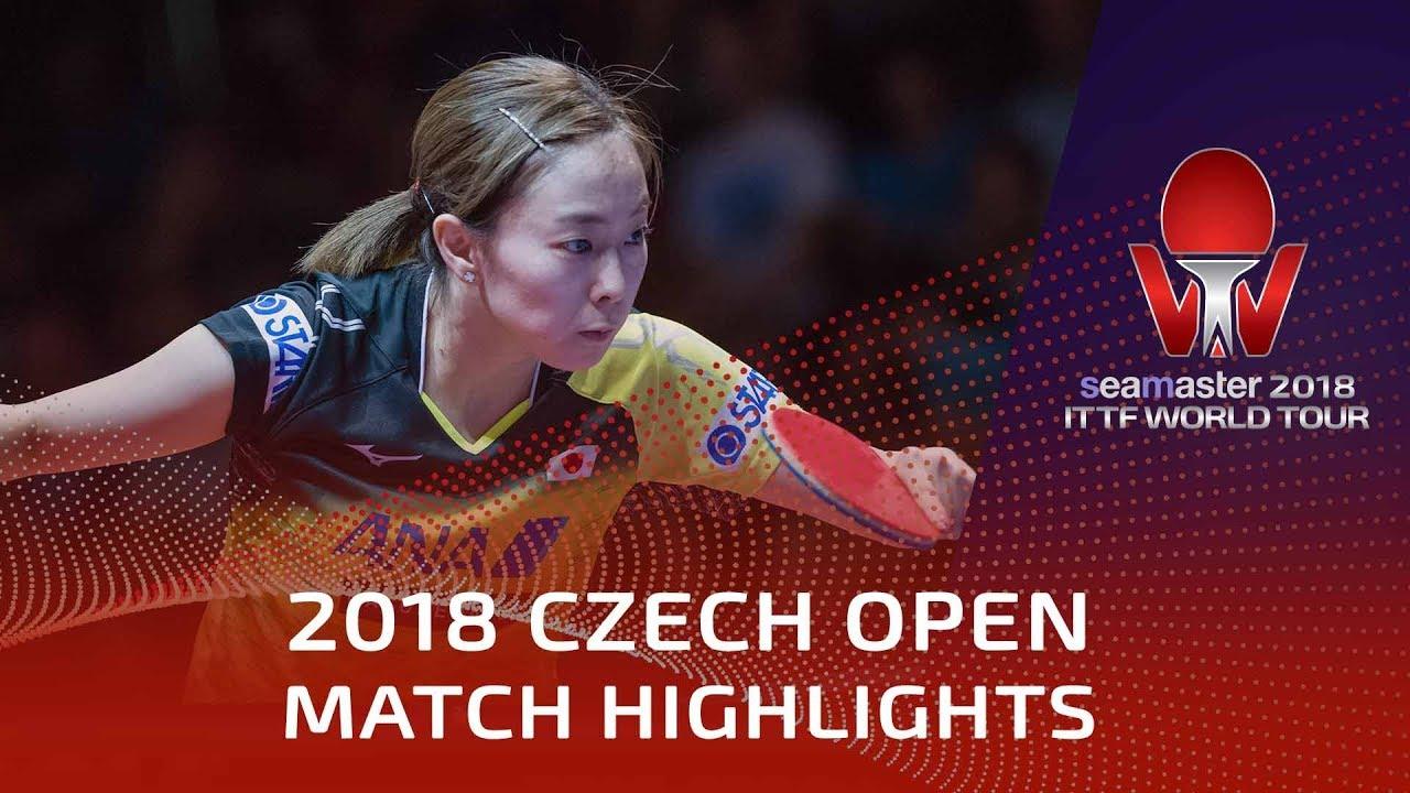 Kasumi Ishikawa vs Adriana Diaz | 2018 Czech Open Highlights