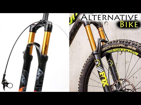 Установка замена вилки велосипеда