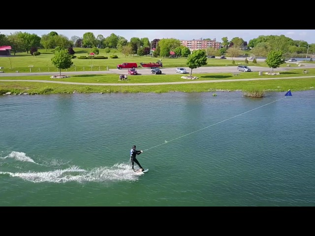 Wakeboarding at Cable Park Port Colborne | 1080p | Slow-Mo | Mavic Pro