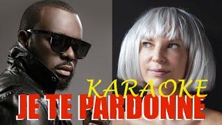 Maitre Gims & Sia - Je te pardonne (instru) KARAOKE + PAROLES