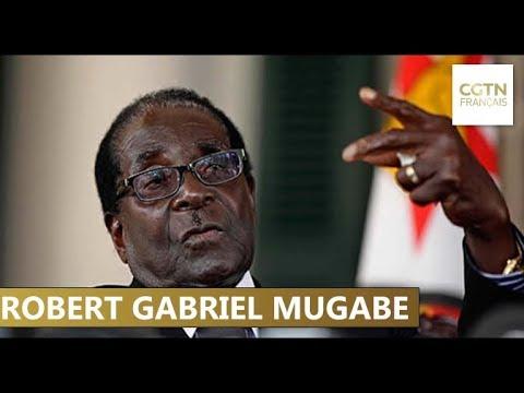 Portrait du président Robert Gabriel Mugabe