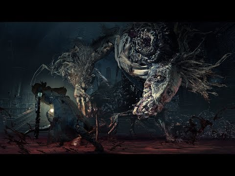 Bloodborne Boss Fights No Damage NG+7(6th) Ludwig the Accursed  - Saw Spear+10 (Unset a blood gem)