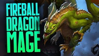 Fireball Dragon Mage | Rastakhan