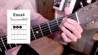 23. Sus4 Chords. Beginner's Guitar Lesson