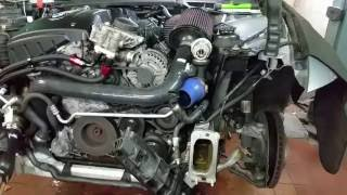 bmw n54 engine start without exhaust and few other bits