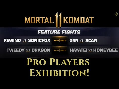 MORTAL KOMBAT 11 REVEAL PRO PLAYER EXHIBITIONS KONFIRMED! thumbnail