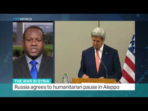 Kerry and Lavrov meet in Geneva for Syria talks, Colin Campbell reports