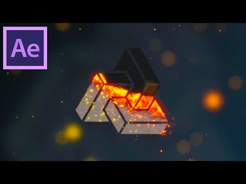 Burning Logo Animation in After Effects - After Effects Tutorial - Easy Method