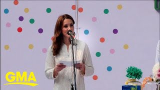 Duchess Kate makes big speech during Pakistan trip l GMA