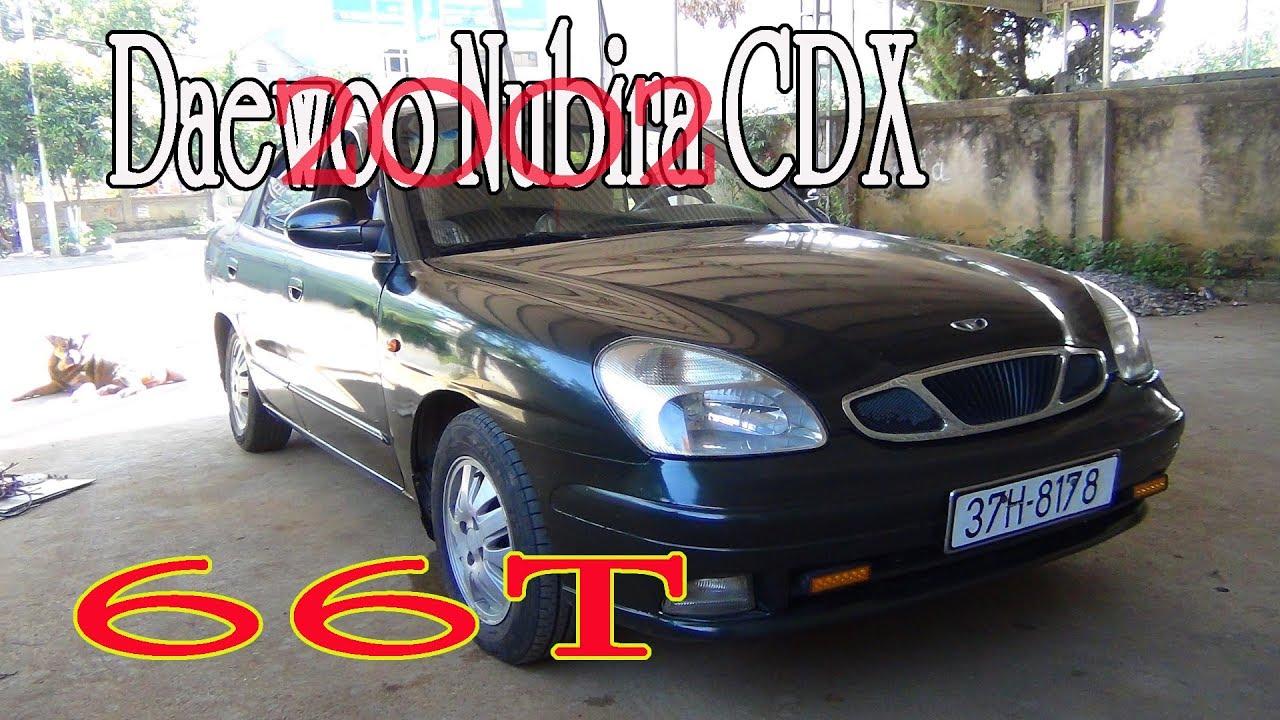 Ô TÔ cũ – Daewoo Nubira CDX 1.6 sx 2001 Màu xanh rêu cưc chắc chăn BG 66T(đã bán)