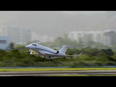 #Embraer #Praetor600 performance at Jacarepaguá Airport