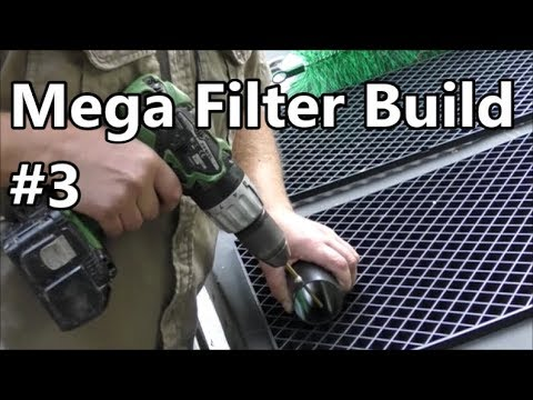 Building a HUGE Pond Filter - Part 3 - Brush Chamber
