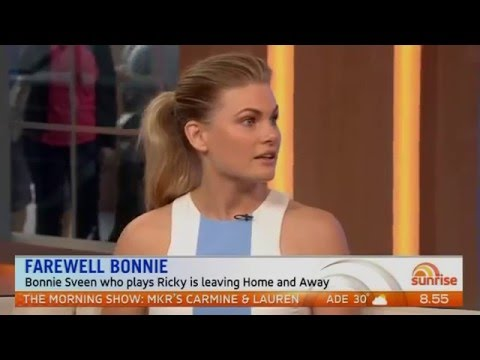 Bonnie Sveen opens up about leaving Home And Away