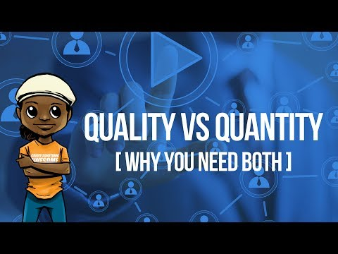 Video Marketing Quality VS Quantity (WHY YOU NEED BOTH)