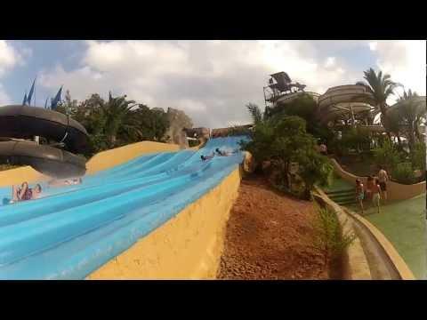 Aquarama Benicassim · Go Pro HD 2 · Paseando mi GOPRO por el Parque Acuatico. 720p