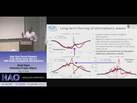 Bolaji Segun | University of Nigeria - Lagos | Solar quiet current response in the African ...