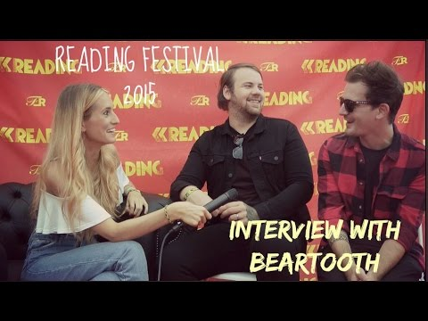 Sophie Eggleton chats to Beartooth at Reading Festival 2015