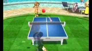 wii sports resort ピンポン チャンピオン戦