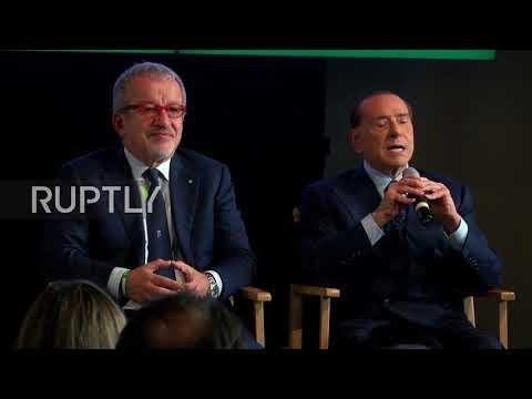 Berlusconi slams 'inefficient' Italian state, supports regional autonomy in Italy