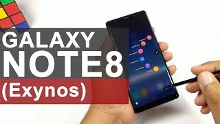 Samsung Galaxy Note 8 (India) Unboxing and Hands-on Review
