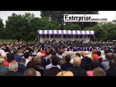 Stonehill College graduation