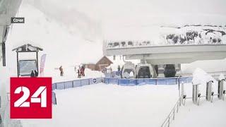 """Снежный """"монстр"""" напал на Россию! Какие прогнозы? - Россия 24"""