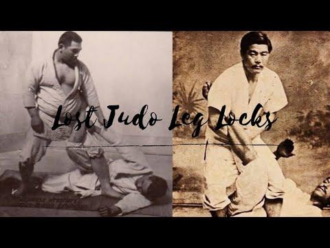 The lost LEG LOCKS of Judo 柔道  足関節技