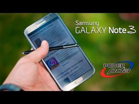 Samsung Galaxy Note 3 - Análisis en Español HD