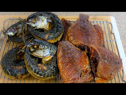 HOW TO SMOKE MACKEREL & TILAPIA FISH IN THE OVEN