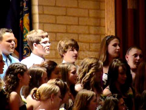 Wind Gap Middle School 8th Grade Graduation song to parents