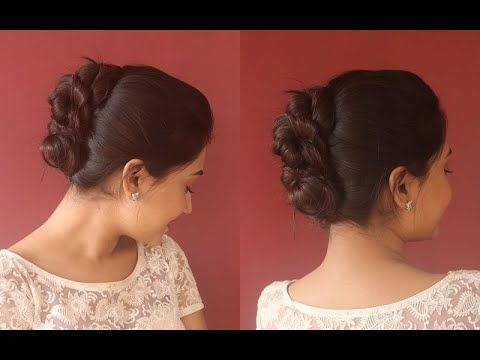 knotted-bun-for-every-occasions|step-by-step|asmita