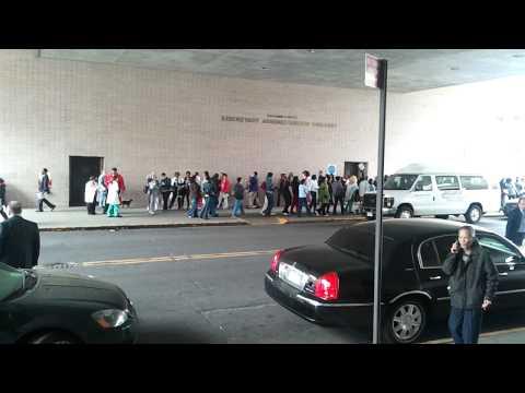 Nurses of Maimonides Medical Center protesting...