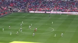 England vs Nigeria Cahill goal イングランドvsナイジェリア、ケーヒルのゴール