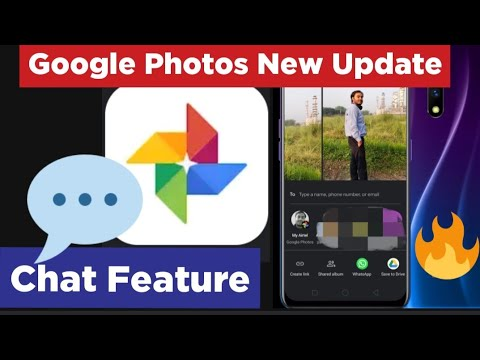 Chat Feature Google Photos|private Messaging Google Photos|new Update Google Photos|Digital Avatar