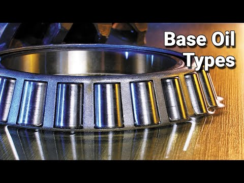 Base Oil Types Explained