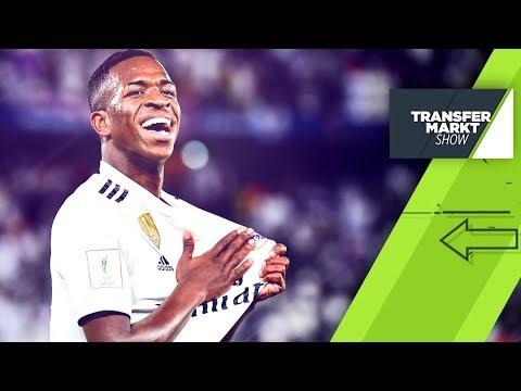 Vinicius Jr. geht steil! So plant Real Madrid die Zukunft | SPORT1 - TRANSFERMARKT-SHOW