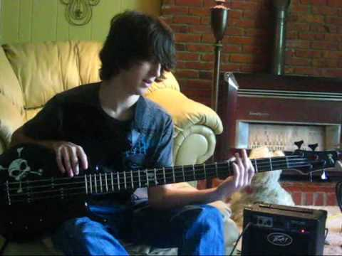 Flyleaf  Im So Sick how to play intro on bass