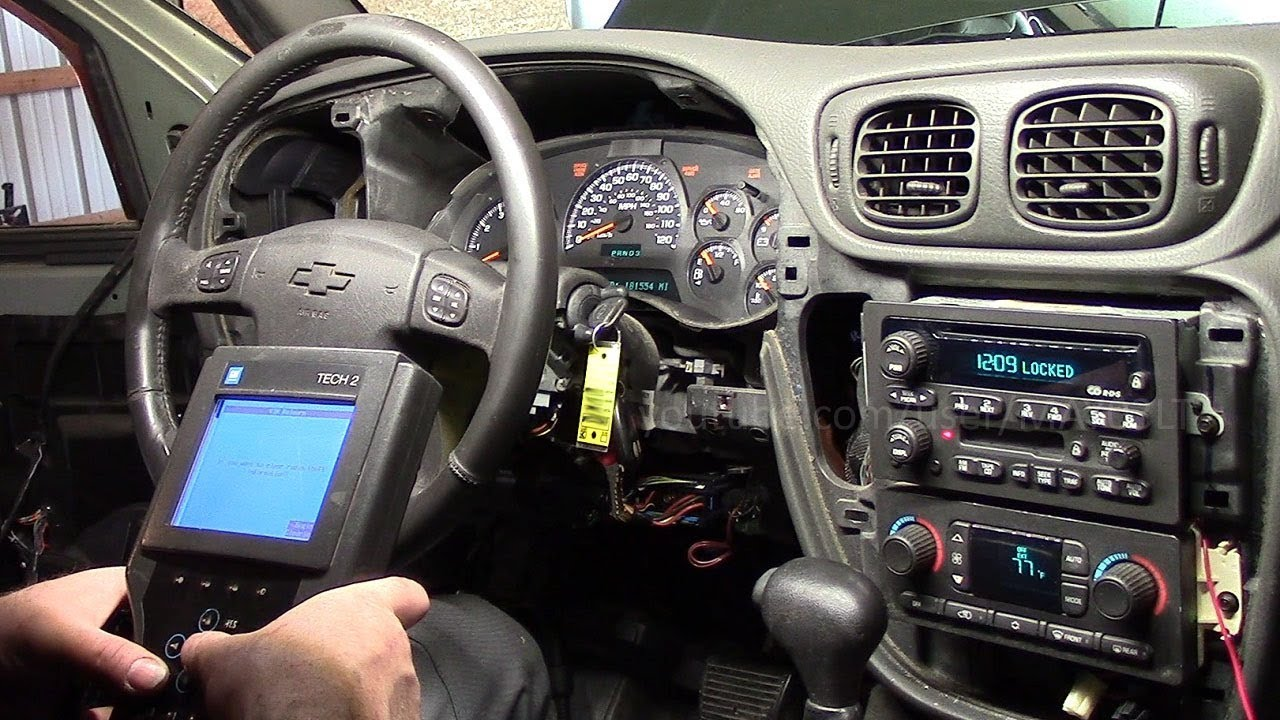 If You Replace Your Trailblazer Radio With One From Another It Will Be Locked