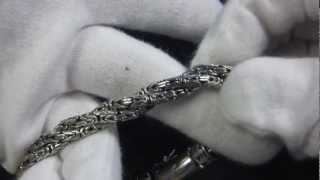 シルバー925ブレスレット スパイラル,Spiral bracelet : プラタルッソ札幌
