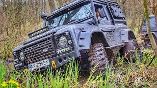 БИТВА МОНСТРОВ. MERCEDES G-Class vs TOYOTA Prado vs LAND ROVER Defender. OFF-ROAD
