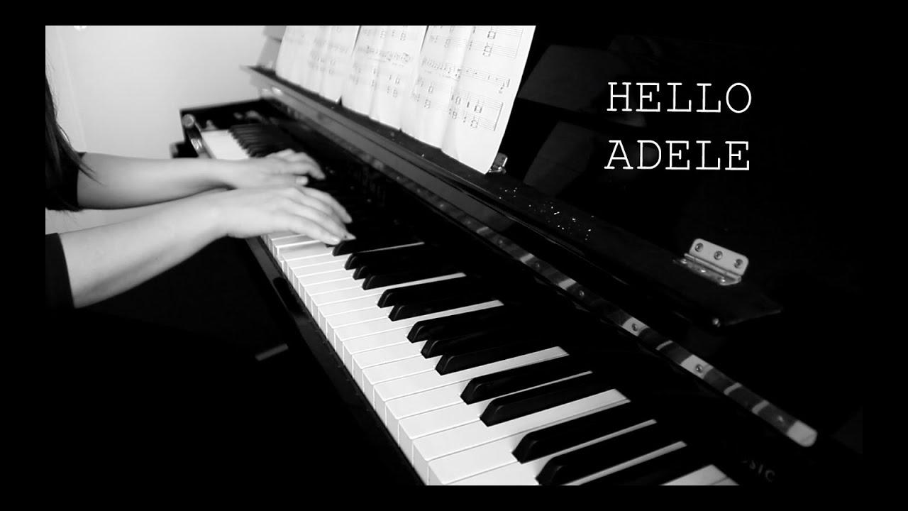ADELE - HELLO (Piano Cover by Polina Yakusheva) - YouTube - photo#35