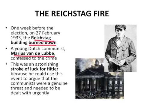 Reichstag Fire and 5th March elections