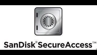 Installing SanDisk Secure Access Software