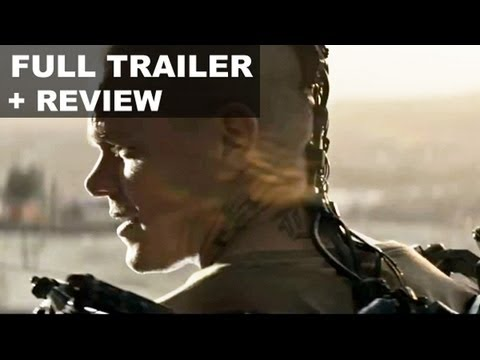 Elysium Official Trailer 2013 + Trailer Review - Matt Damon, Jodie Foster : HD PLUS