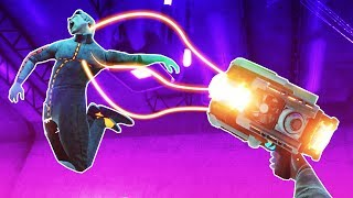 I Beat Up The King Clone and Got a Gravity Gun in Boneworks VR!