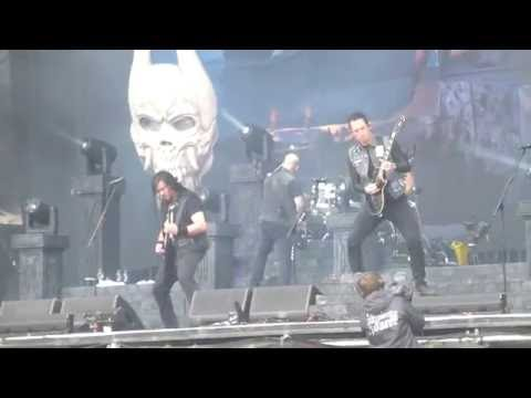 Trivium - Like Light to the Flies - live @ Greenfield Festival 2016, Interlaken 11.6.16